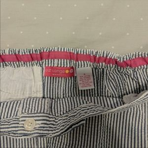 Liz Lange for Target Skirts - Seersucker maternity skirt